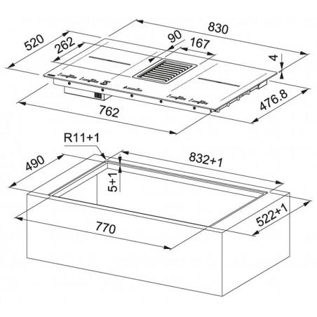 Mythos 2Gether FMY 839 HI 2.0 Černé sklo