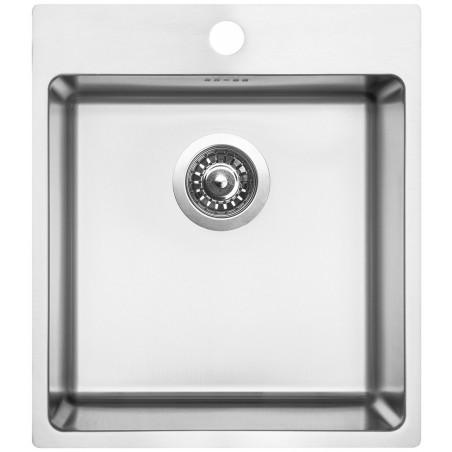 Kuchyňský dřez Sinks Blocker 450 V 1 mm, kartáčovaný