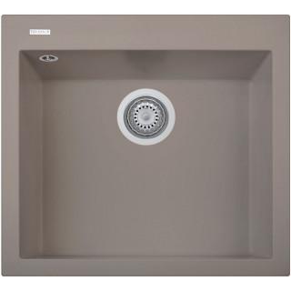 Kuchyňský dřez Sinks Cube 560 Truffle 54