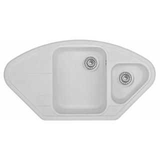 Kuchyňský dřez Sinks Lotus 960.1 Milk 28