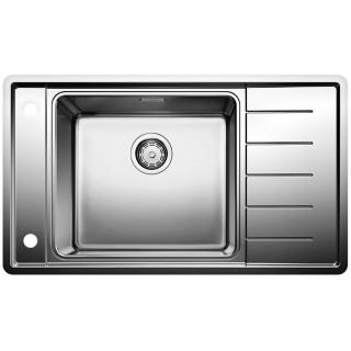 Kuchyňský dřez Blanco Andano XL 6 S-IF Compact Hedvábný lesk, levý 521014