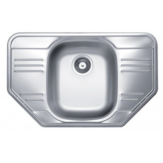 Kuchyňský dřez Sinks Cupid 780 V 0,6 mm, matný