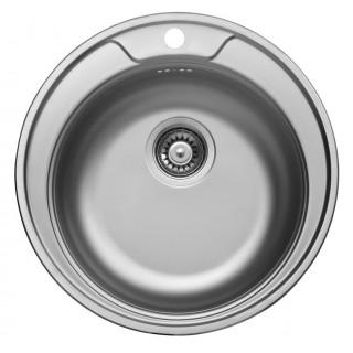 Kuchyňský dřez Sinks Rondo 510 V 0,6 mm, matný