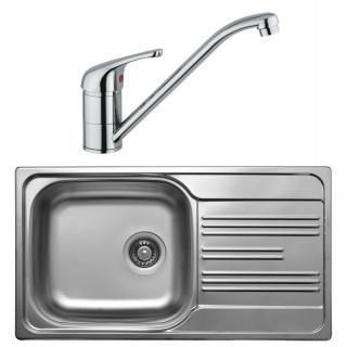 Kuchyňský set Sinks Kromevye 47 (dřez Colea 780 V + baterie Vento 4)