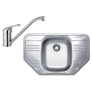 Kuchyňský set Sinks Kromevye 59 (dřez Cupid 780 + baterie Vento 4)