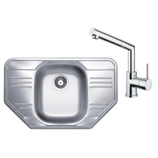 Kuchyňský set Sinks Kromevye 62 (dřez Cupid 780 + baterie Mix 350 P)