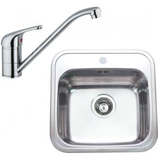 Kuchyňský set Sinks Rodi 09 (dřez Manaus 460 + baterie Vento 4)