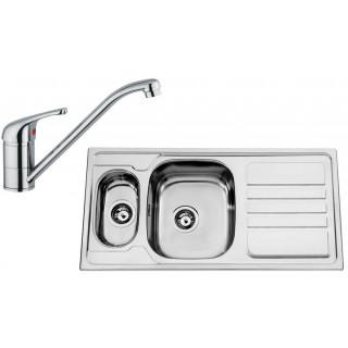 Kuchyňský set Sinks Rodi 53 (dřez Okio 1000.9 + baterie Vento 4)