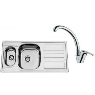Kuchyňský set Sinks Rodi 55 (dřez Okio 1000.9 + baterie Vento 55)