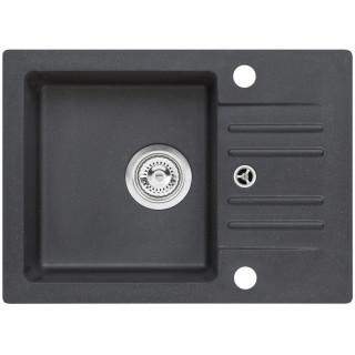 Kuchyňský dřez Alveus Cortina 40 Black 91, bez excentru