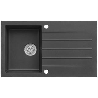 Kuchyňský dřez Alveus Cortina 130 Black 91, bez excentru
