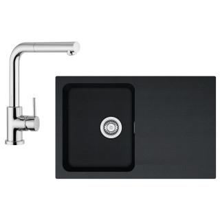 Kuchyňský set Franke T32 (dřez OID 611-78 + baterie FN 0147.031) Černá