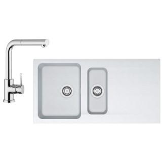 Kuchyňský set Franke T44 (dřez OID 651 + baterie FN 0147.031) Bílá