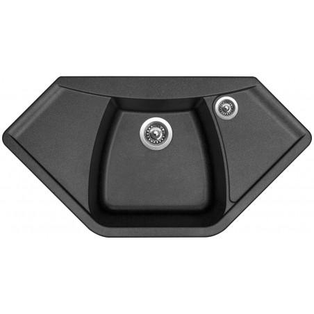 Kuchyňský dřez Sinks Naiky 980 Metalblack 74